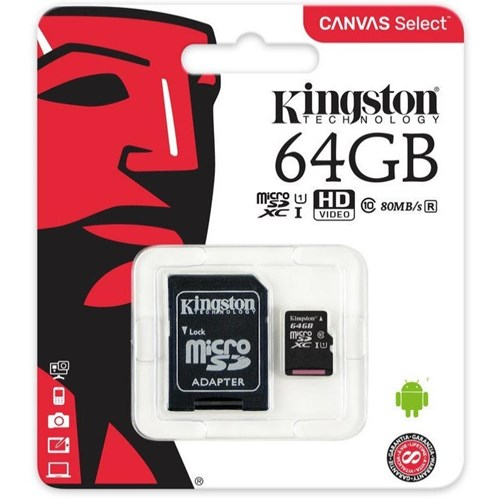 Kingston Micro SD - 64 GB