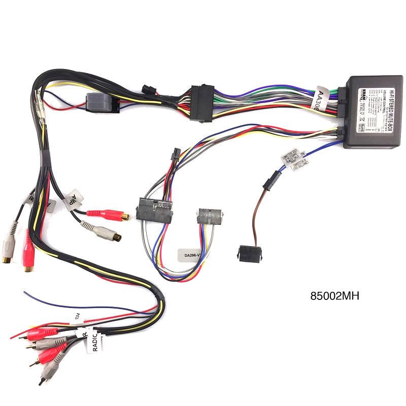 Kan du tilslutte bilens højttalere til en forstærker